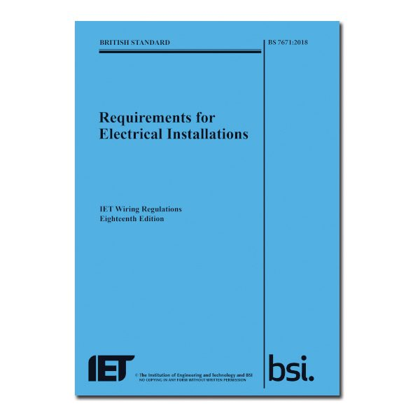 FULL City And Guilds 2382 18 18th Edition Of The Wiring Regulations BS 7671 2018